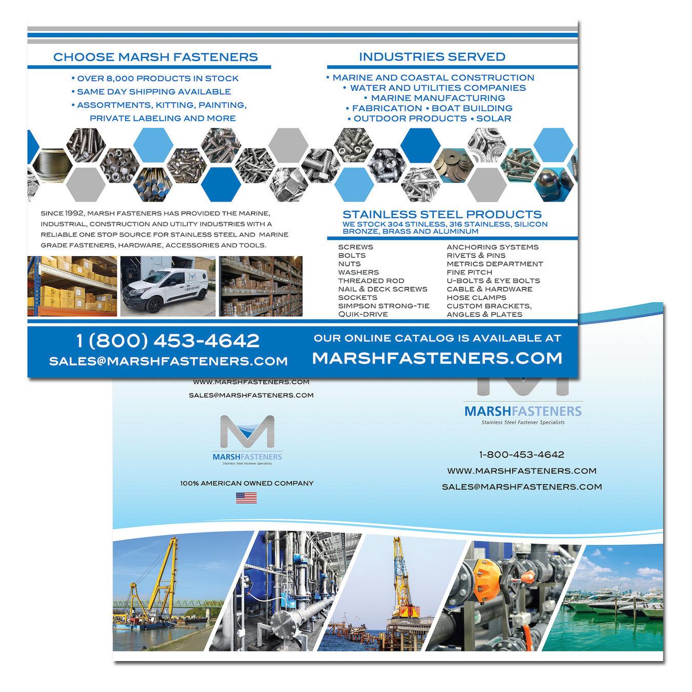 Marine Company Bi-Fold Brochure Design - Jupiter