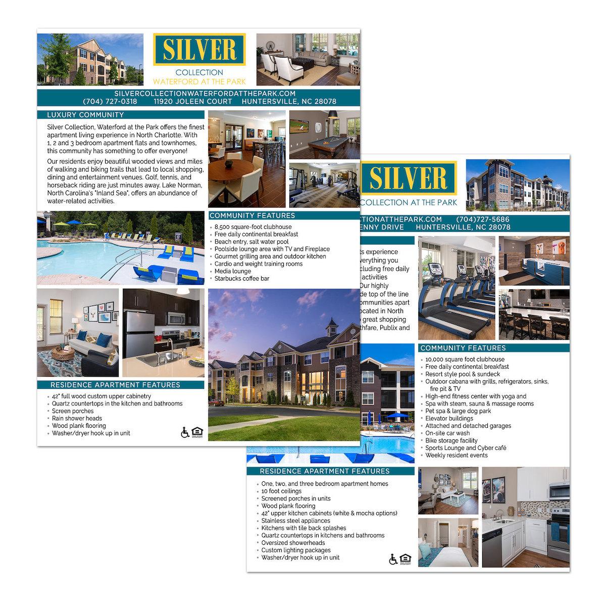 Apartment Complex Flyer Design - Fredericksburg, VA
