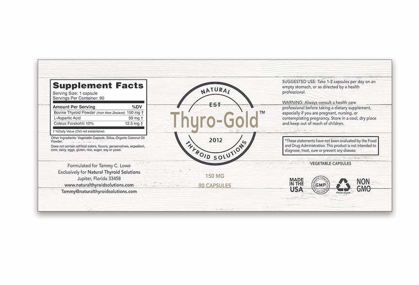 Supplement Label Design - Jupiter