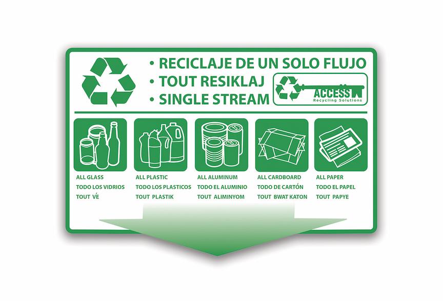 Recycling Label Design - Jupiter
