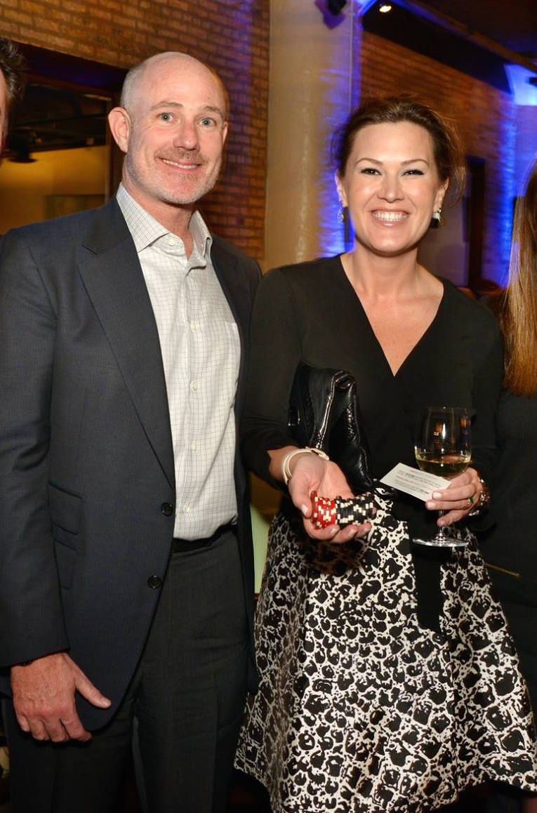 Ted and Kathryn at Threshold's Fundraiser.jpg