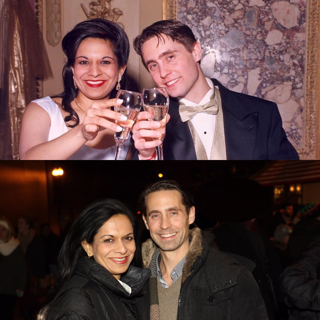 Then & Now - On our wedding day and today! (1997)