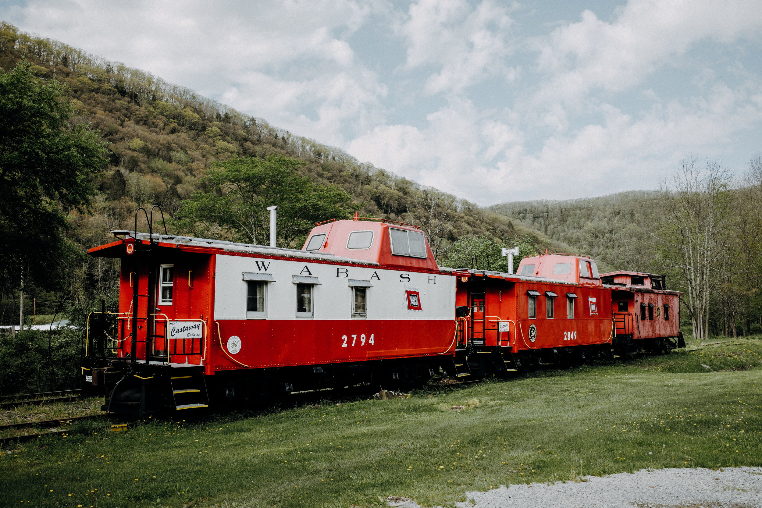 pictured above: The Castaway Caboose.