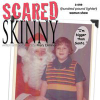 Mary Dimino's beautiful solo show, Scared Skinner. Winner for Outstanding Solo Show in FringeNYC