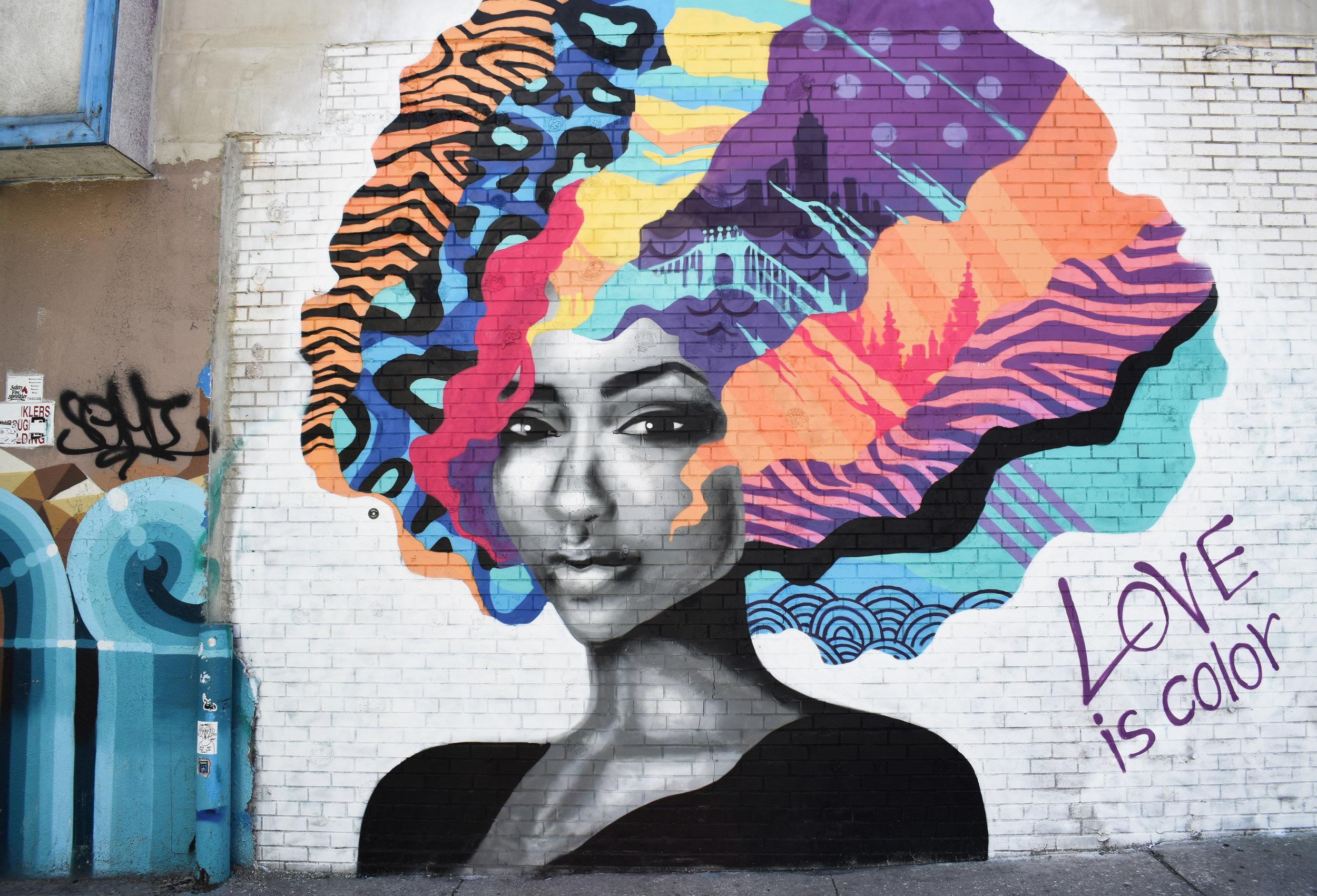 Love is color artwork