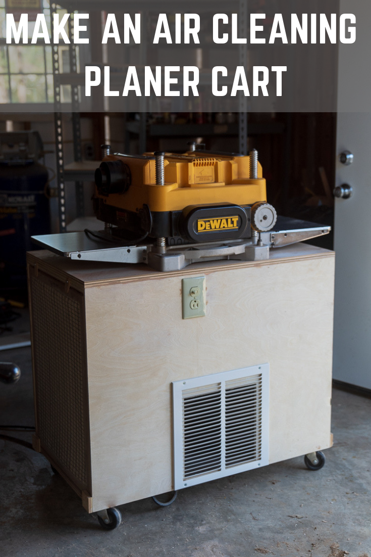 Air Cleaner Planer Cart