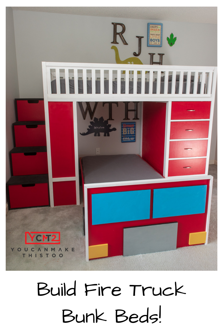 Fire Station Bunk Bed