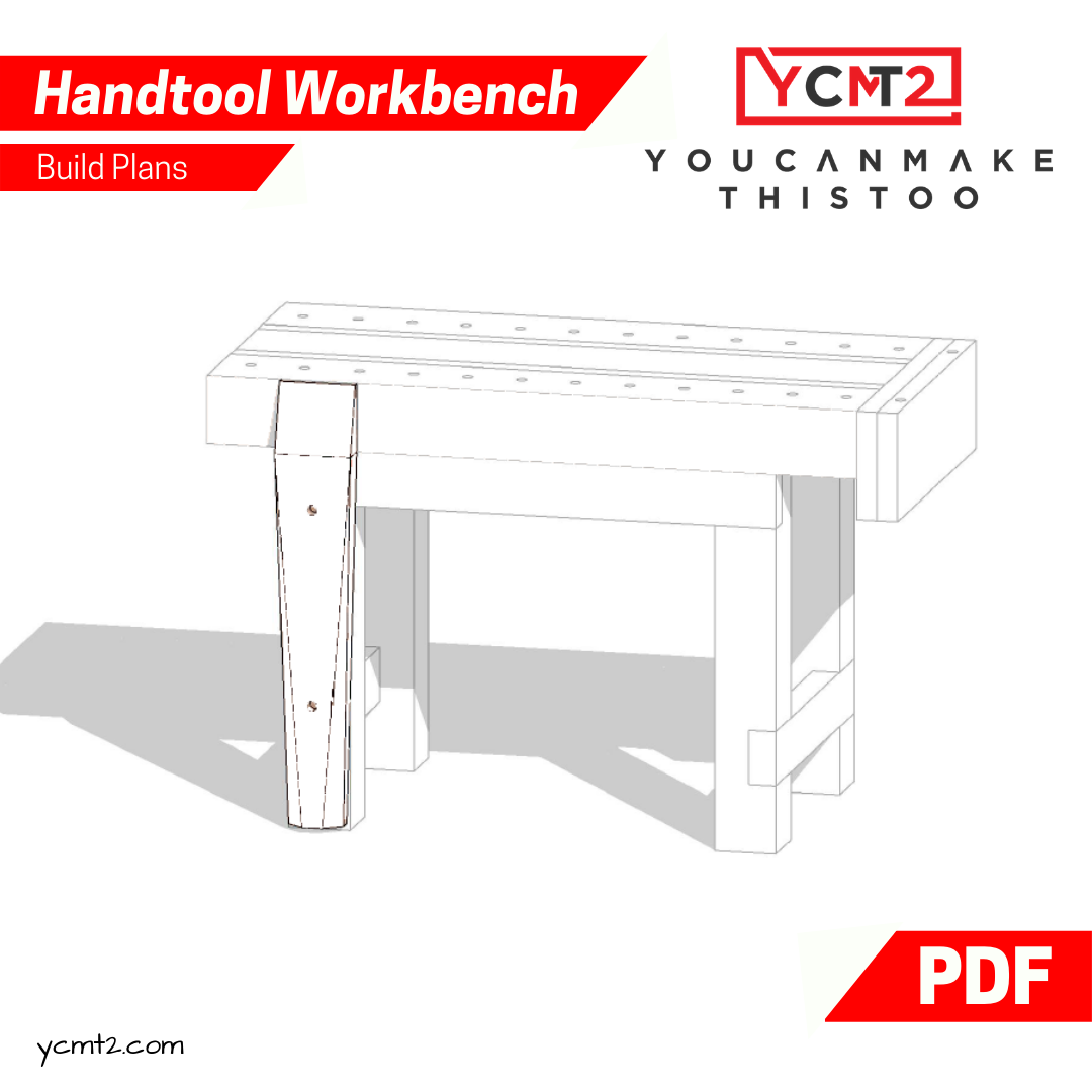 How To Build a Woodworking Workbench — YouCanMakeThisToo