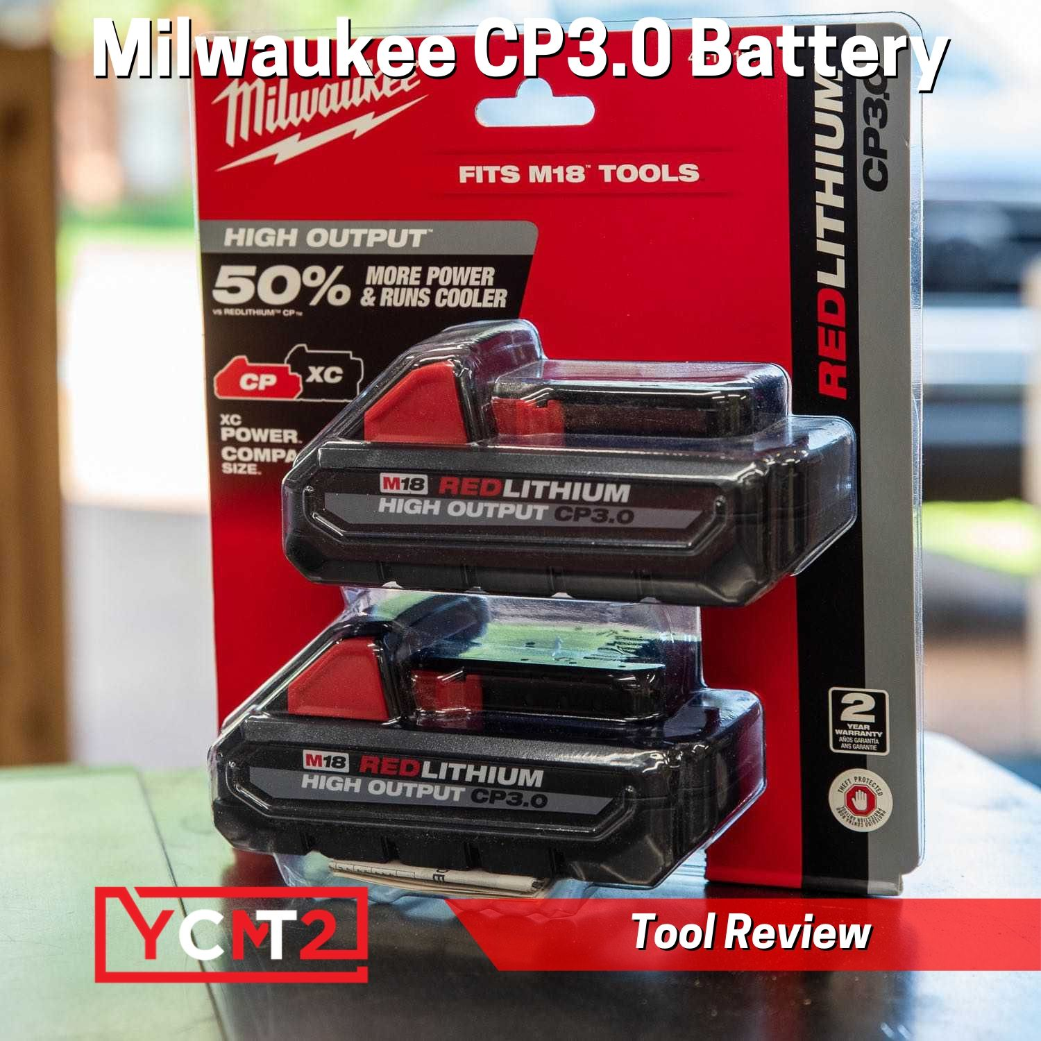Milwaukee M18 High Output CP 3.0AH Battery Review