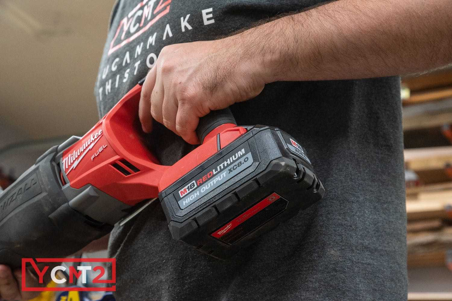 Milwaukee M18 High Output XC 8.0AH Battery Review