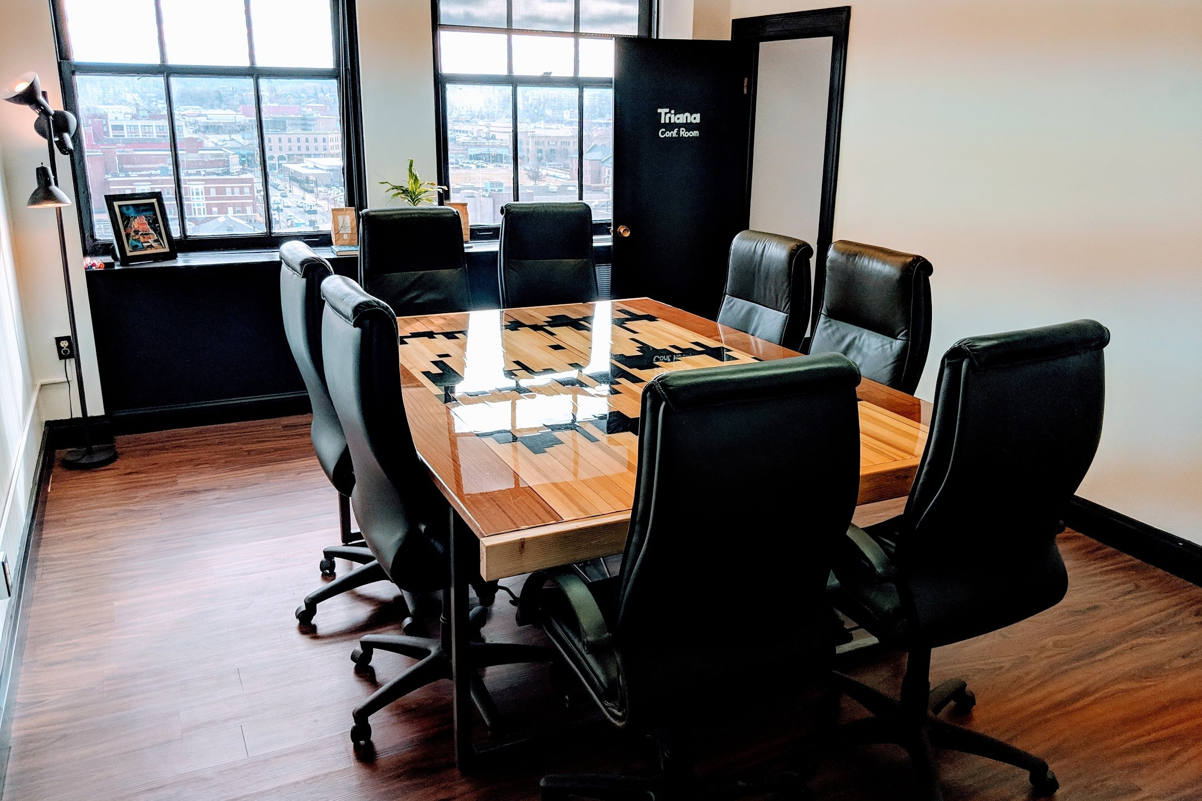 Triana Room conference table