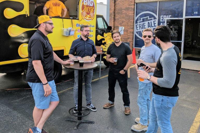 Jammin' with half a dozen Erie entrepreneurs