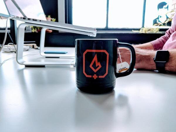 Use a mug not a throw-away cup!