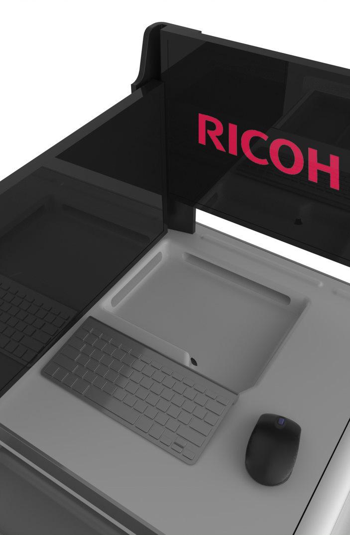 Ricoh Telemedicine Cart