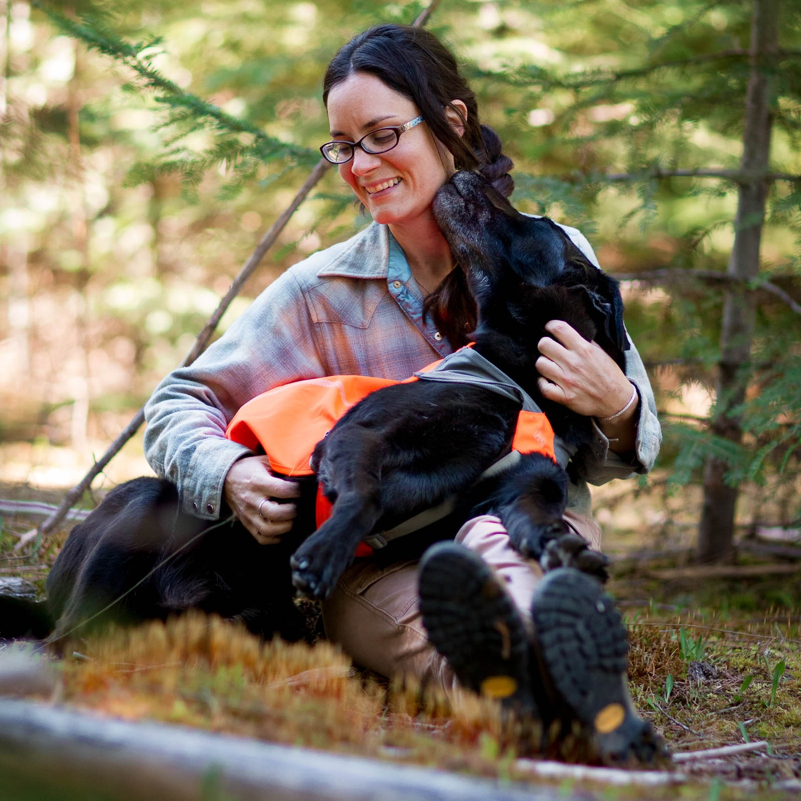 Jennifer Hartman    Bounder, Field Research Scientist, Instructor   Jennifer has been in the world of dog detection work for 13+ years. She has traveled to Asia and Africa for wildlife conservation studies. Like most Rogues, Jennifer prefers to stay out of the spotlight and help from behind the scenes. She has been the backbone of other detection dog programs and did not shrink from the responsibility of building Rogues from scratch. A badass in the field and in the office, Jennifer coordinates all of Rogue's projects when she's not off saving the world with her trifecta of Max, Scooby, and Filson.