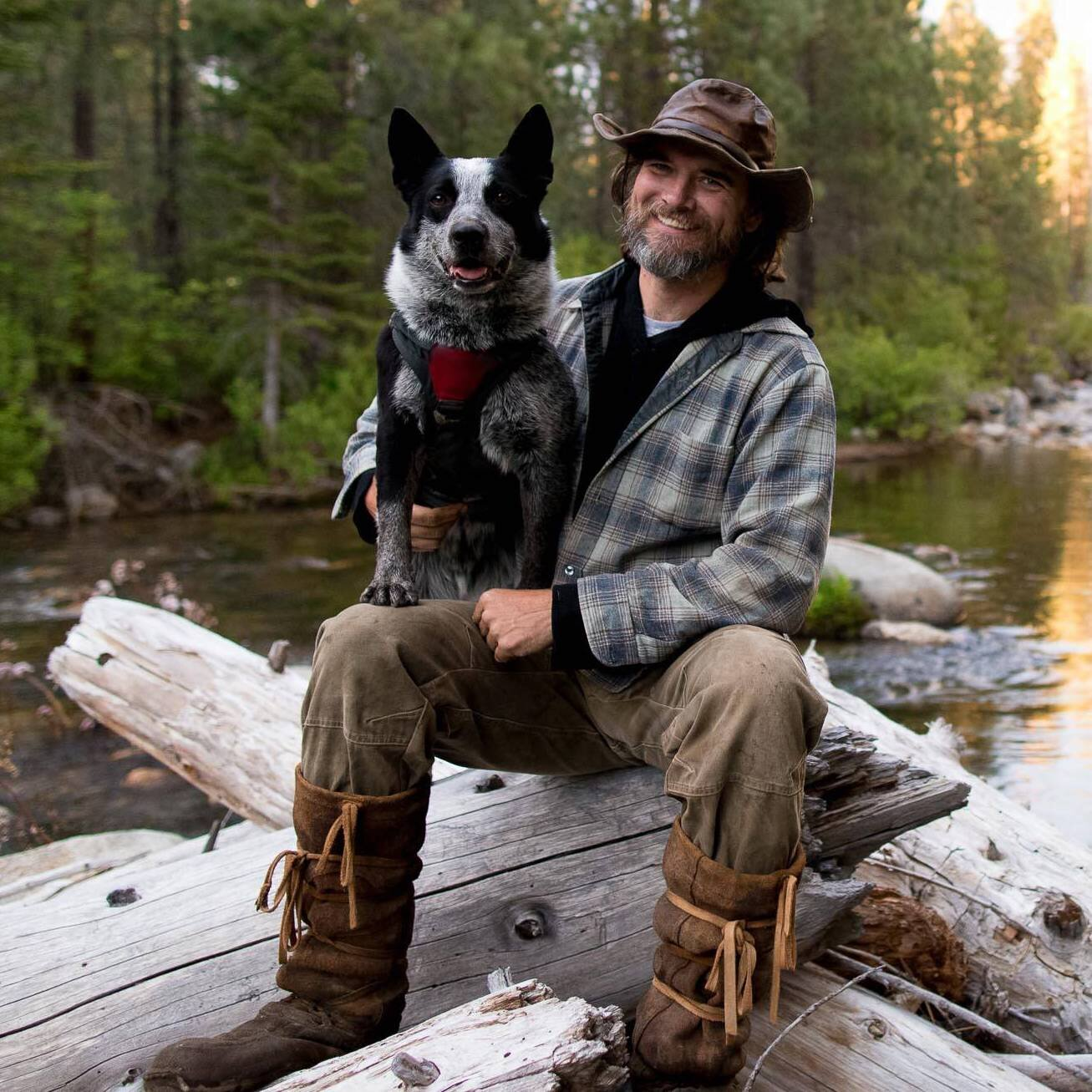 "Heath Smith    Founder, Bounder, Instructor   It is a commonly used idiom, ""who rescued who"", when discussing dogs and their people, but it is most true when looking at the relationship between Heath and his first canine partner, Gator. The team were paired up when Heath first started doing detection dog work in 2001, and though Heath was a self-proclaimed cat person, Gator managed to steal his heart and pull Heath down a path of no return. Heath has trod in the world of conservation detection dogs ever since, walking side-by-side with many incredible rescue pups across innumerous landscapes. The more Heath learned from these sage animals, the more he wanted to share this newfound wisdom with others."
