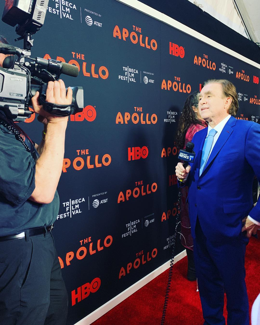George hits the red carpets for the 2019 tribeca film festival - The Apollo, A Kid from Coney Island, Of Mics and Men…these are just a few examples of the TFF red carpets that George and his team graced this past spring!