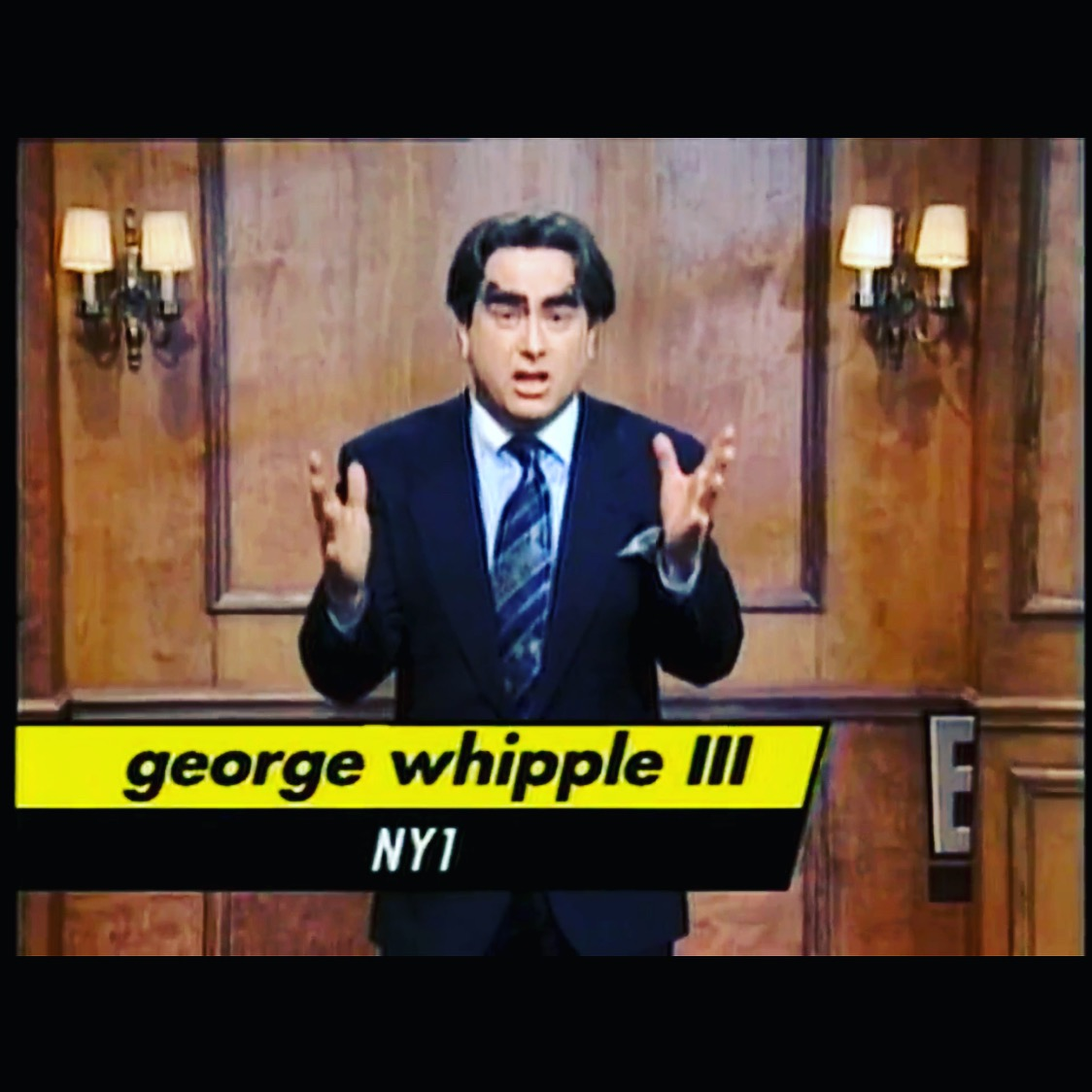 George impersonated on SNL! - In 1996, Darrell Hammond did a hilarious impersonation of George! Watch the full clip here.