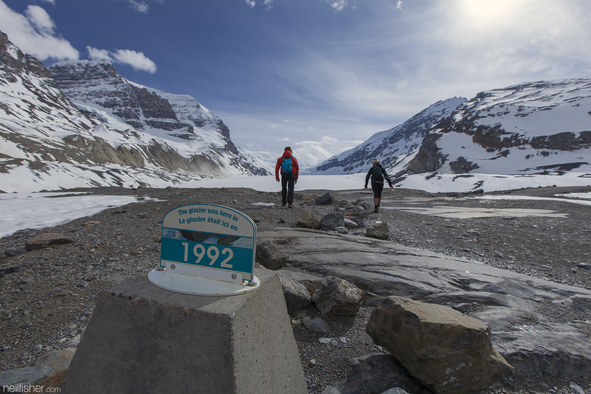 """The glacier was here in 1992"""" EXIF 1/200sec f/8.0 ISO100 16mm"""