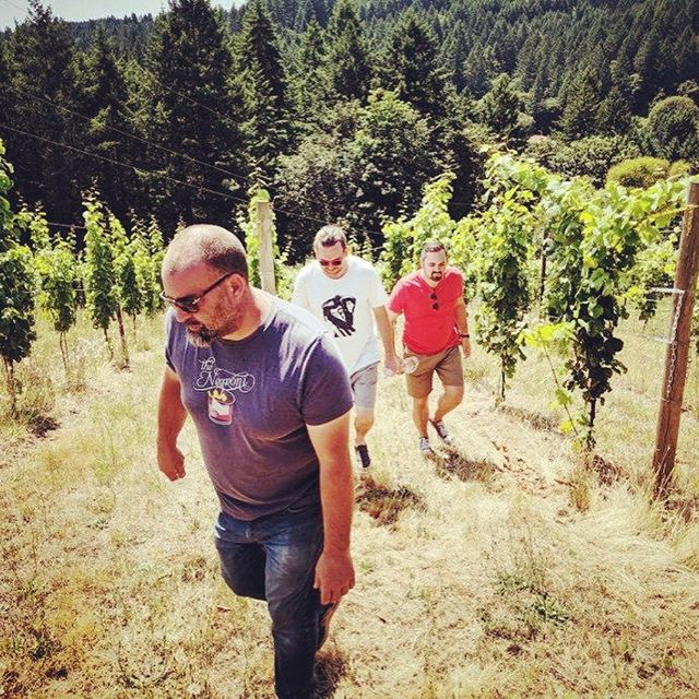 Biodynamic Riesling on Chahalem w/ @beckhamestate doing super inspiring work. The future of Riesling is bright y'all. #errydayimriesling #amphora . . . . . #oregon #willamettevalley #chahalemmountainava #biodynamics