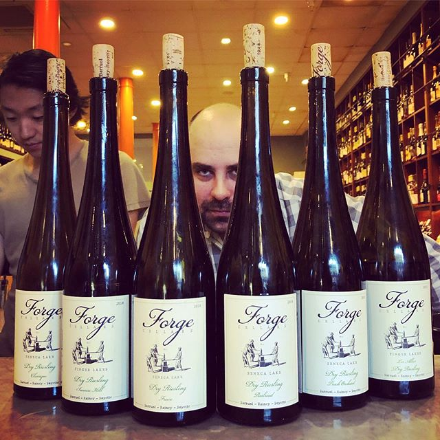 "@forgecellars setting the bar for ""East Coast Riesling"" #errydayimriesling"