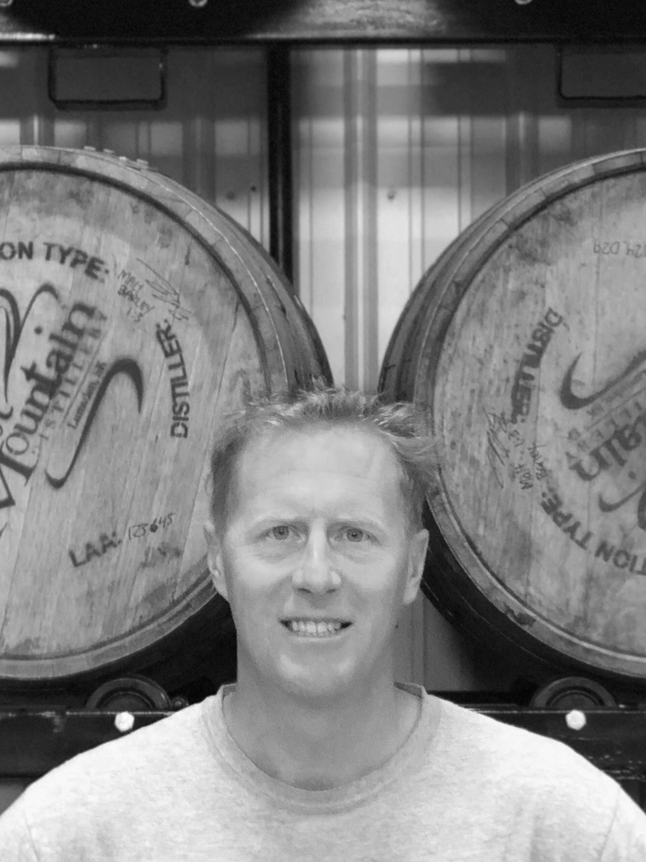 COLIN SCHMIDT - Co-Founder of Last Mountain Distillery   Colin loves spending time with his two son's hunting, fishing, and golfing. Colin isn't one to turn down a challenge or bet.   Favourite LMD Product:  LMD'S specialty Whiskies