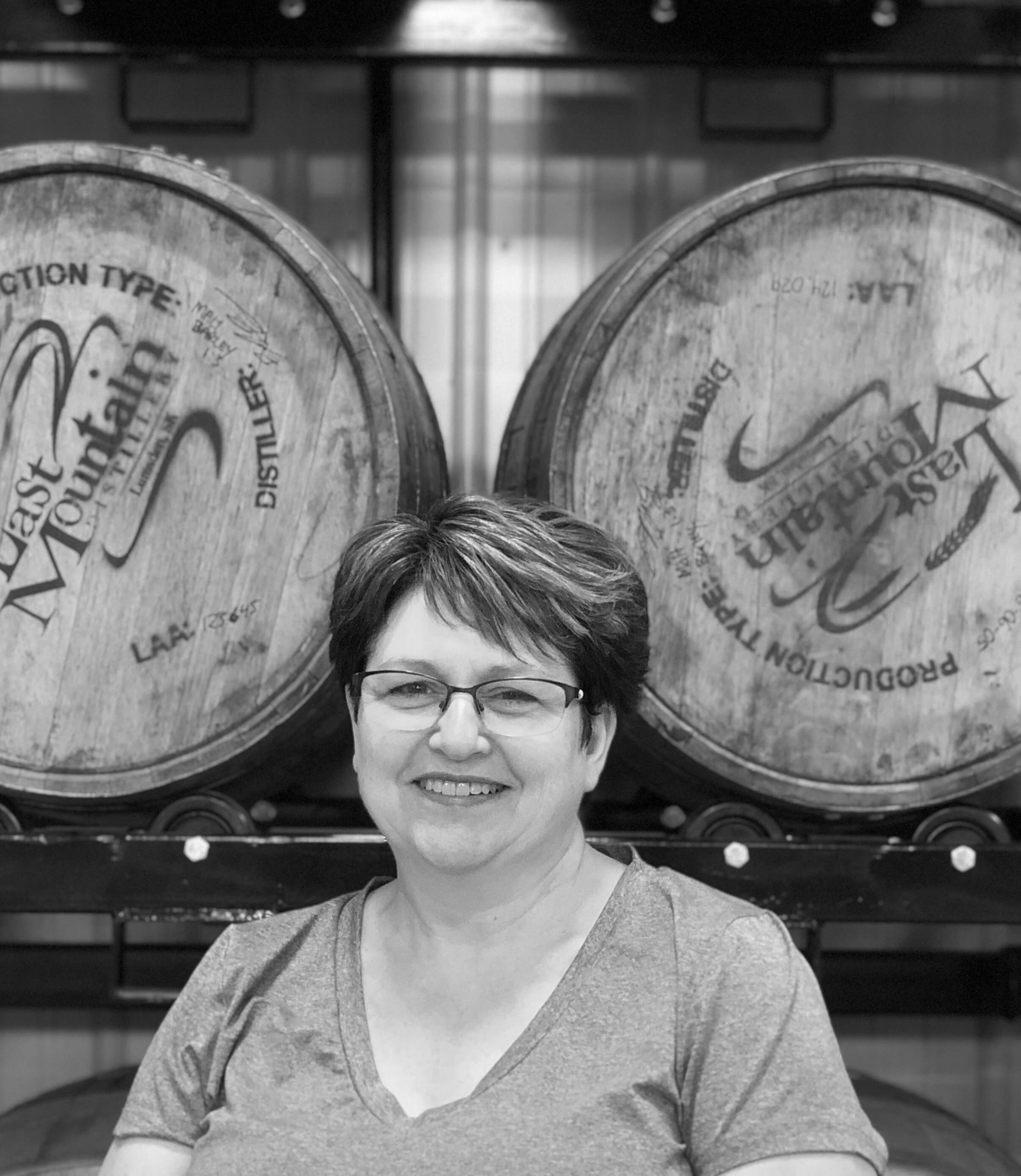 LISA F. - Inventory Specialist   Lisa is our Inventory Specialist. If you are looking to get organized Lisa is your gal! She is a movie and Survivor fanatic. In Lisa's spare time she loves to host and be with friends.   Favourite LMD Drink:  LMD Apple Pie Moonshine and ginger ale