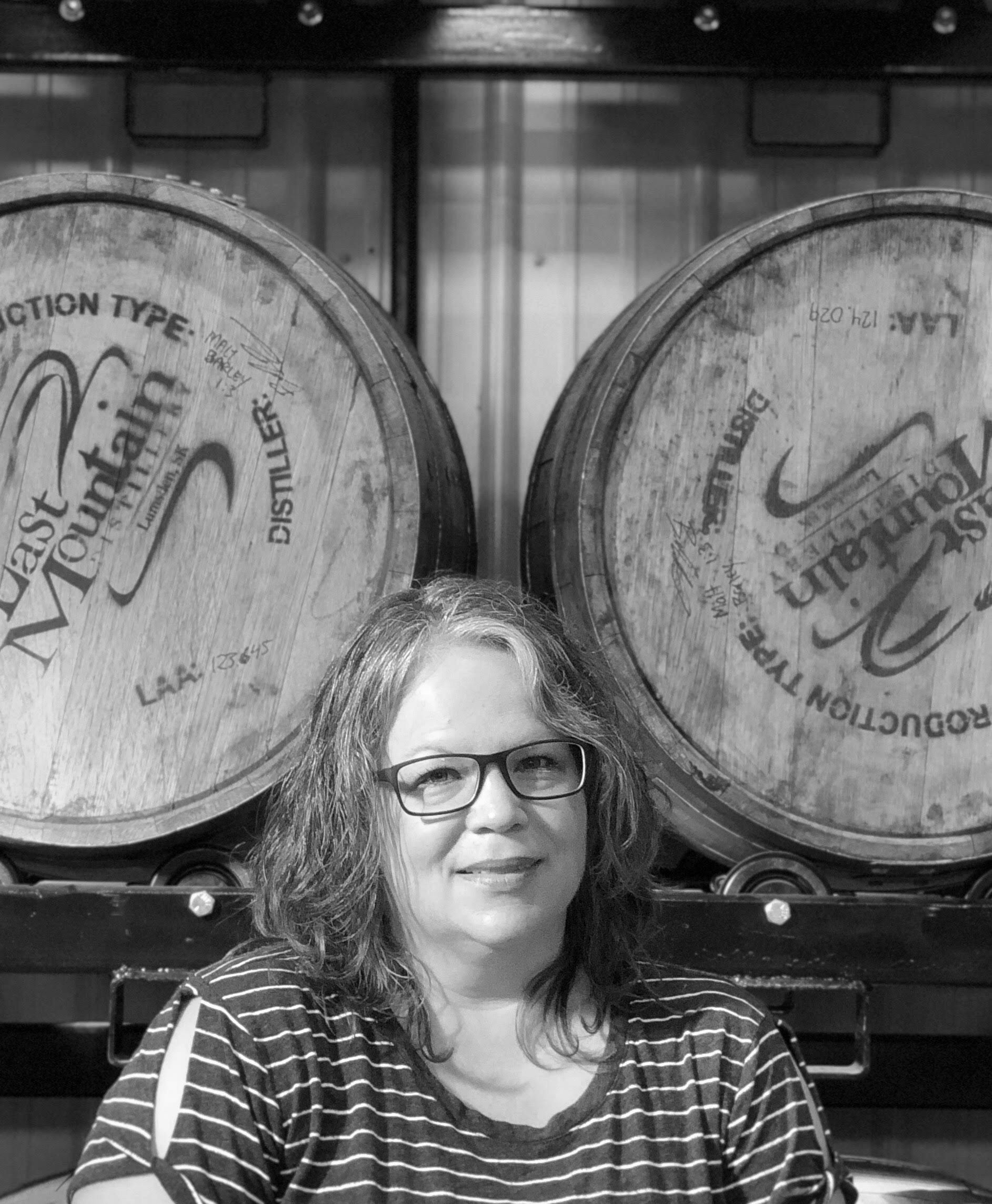JEN F. - Accountant   Jen is always on the go whether it is officiating weddings, doing things for the town hall in Disley or helping run the family business Hillside Smoke N' Que.   Favourite LMD Drink:  LMD Sweet Tea Vodka with lemonade or limeade