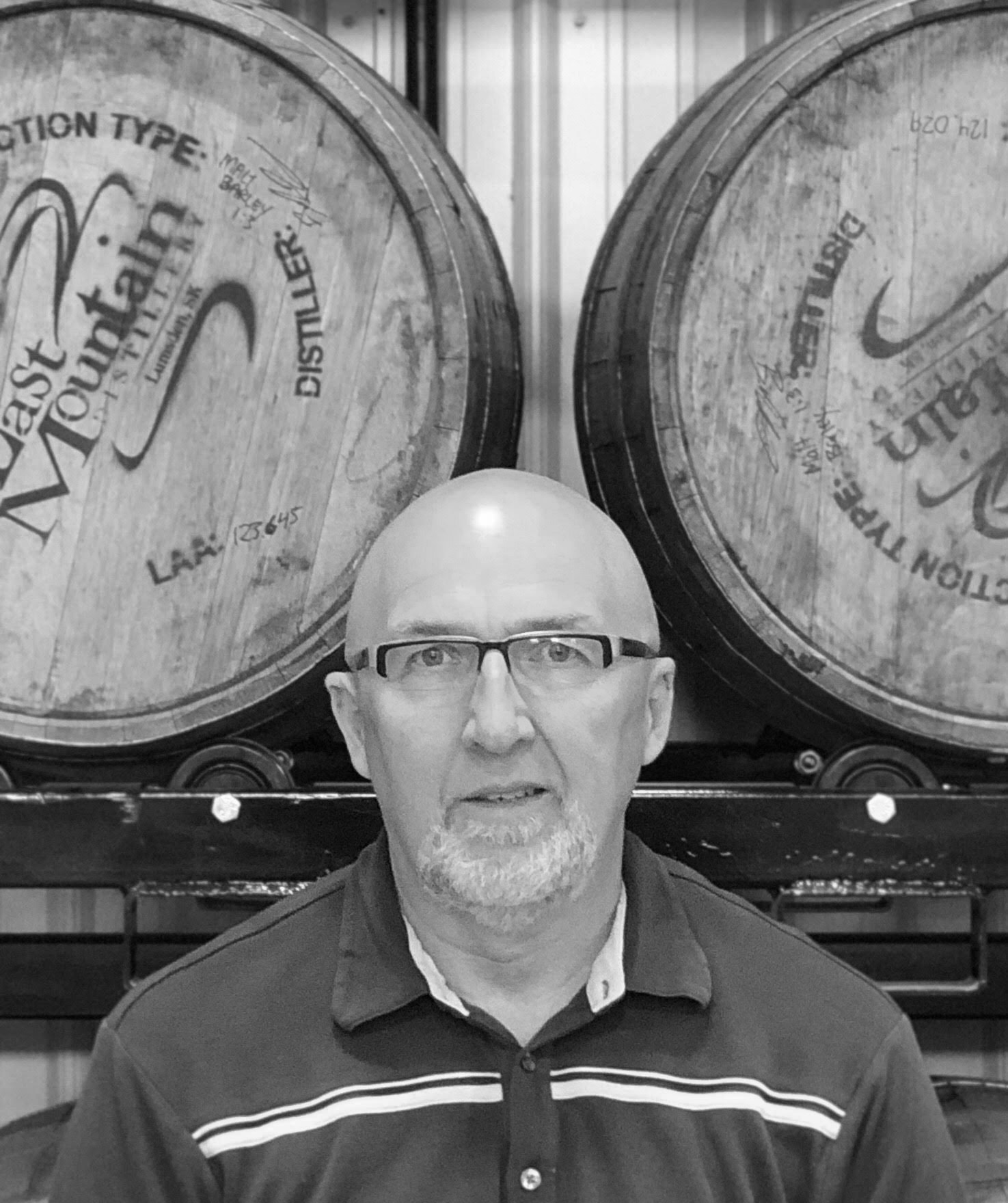 FRED G. - Bottling & Distiller's Assistant   Fred is another avid fisher on the LMD team and is always more than willing to do the heavy lifting. His sense of humor helps to keep things light in the shop.   Favourite LMD Drink:  LMD Apple Pie Moonshine