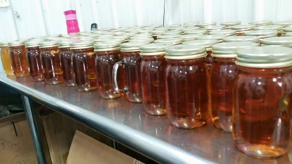 First batch of LMD Apple Pie Moonshine.