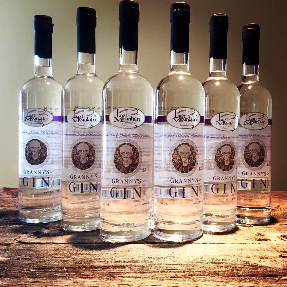 Launch of LMD Granny's Gin.