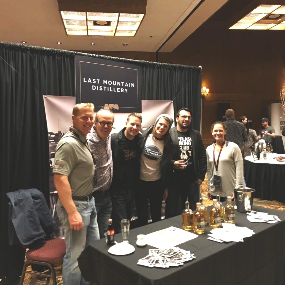 LMD at the Banff Whisky Experience.