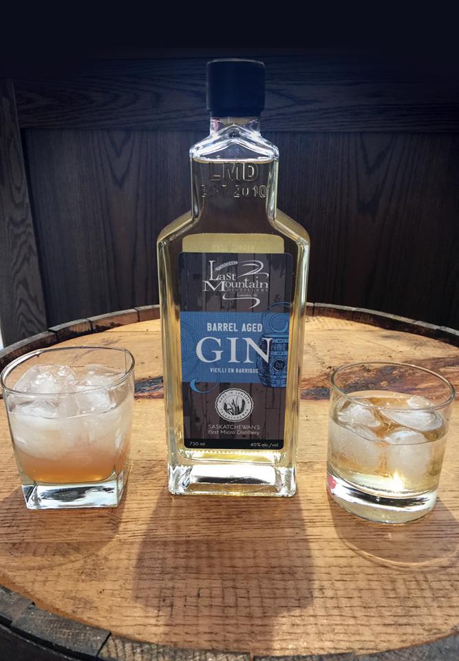 Launch of LMD Barrel Aged Gin.