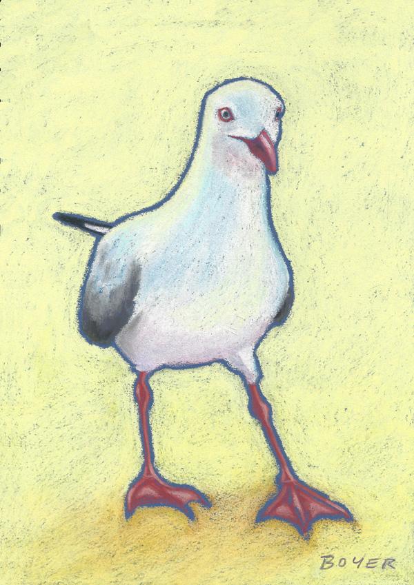 """Leopold""  Soft pastel on board. 21cmx30cm. Unframed original.  Archival prints available ."
