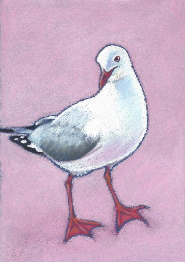 """Grace""  Soft pastel on board. 21cmx30cm. Unframed original.  Archival prints available ."