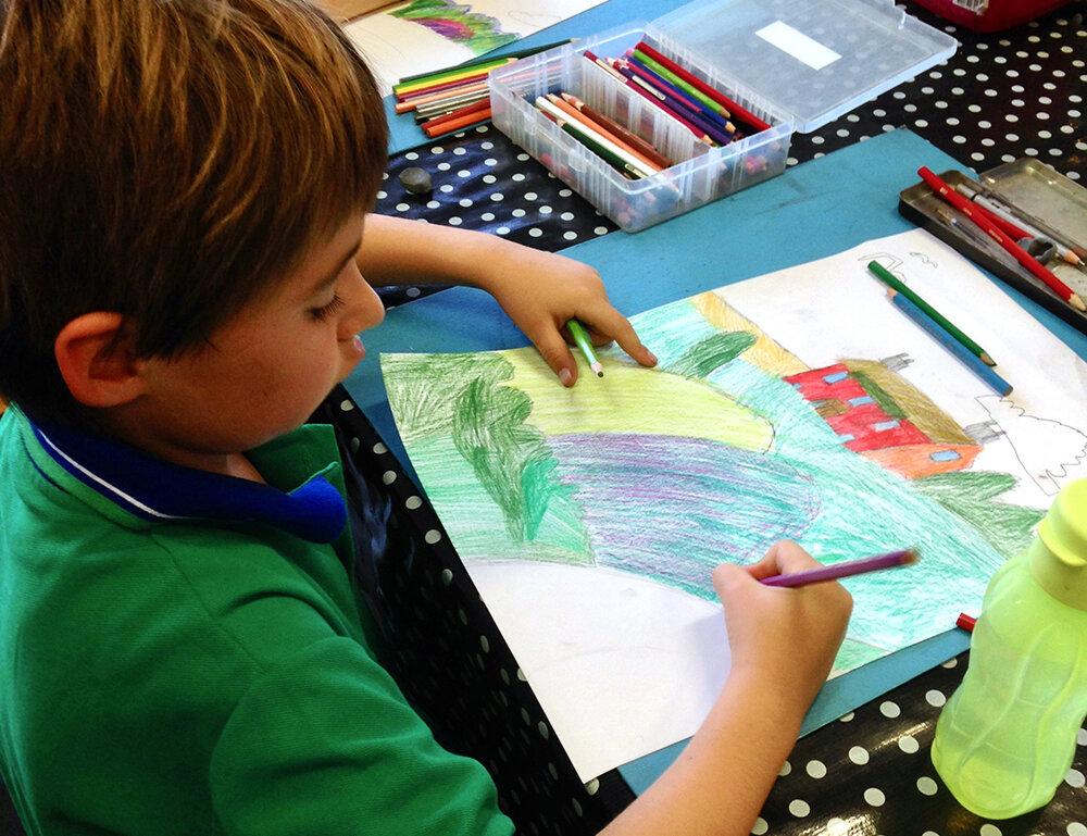 The Art Room Junior Drawing class.jpg