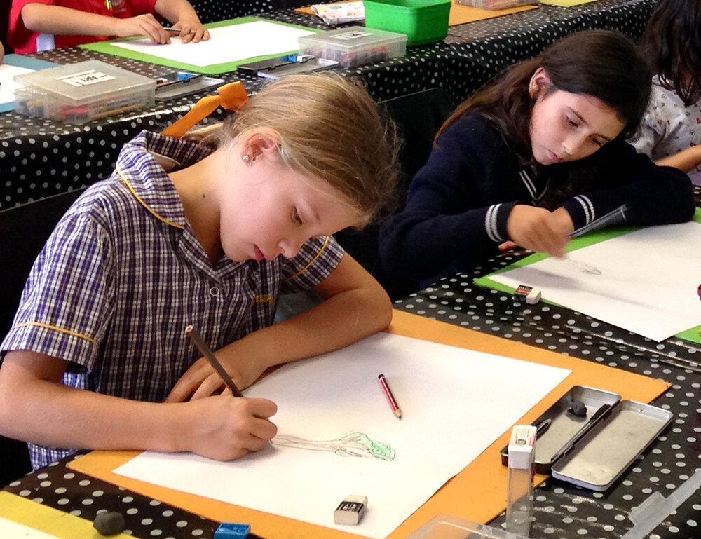 The Art Room Junior Drawing class 2.jpg