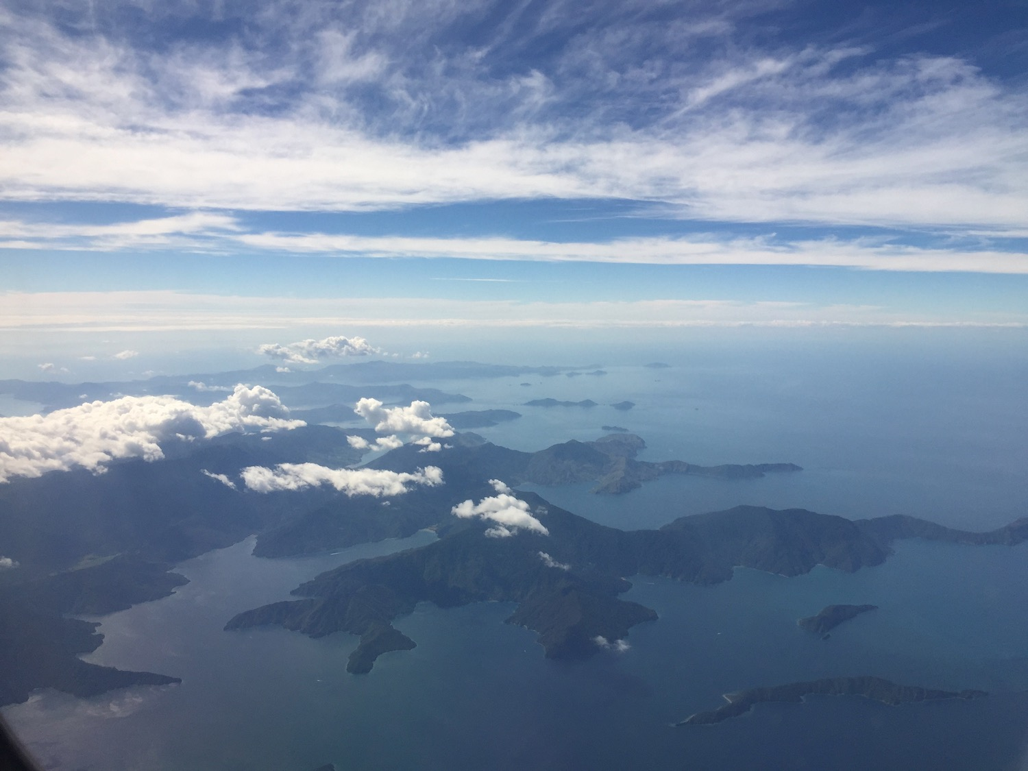 flying over South Island, New Zealand.  Photo by Lynne Cameron