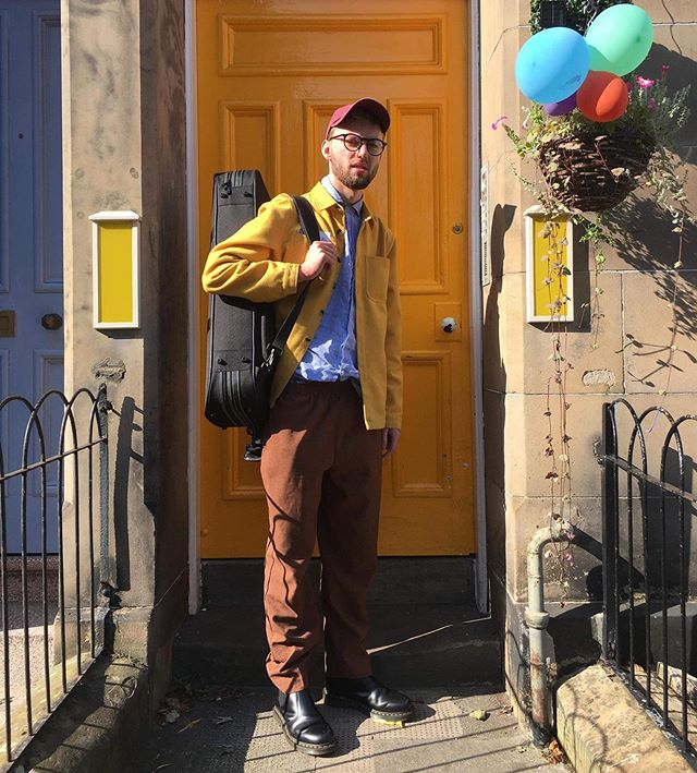 Working holiday #1 Thanks @sparetherodgosh  for involving me in your wonderful Sales Pitch. Keep buying.  Keep consuming.  Thanks @emmablackburn97 for the good times and photo. Edinburgh peace out stay magical.