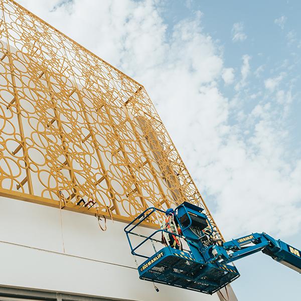 Mashrabiya Installation