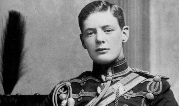 Young Churchill was eager for fame through military actions.