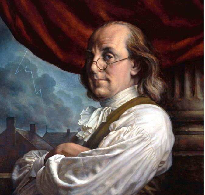 Benjamin Franklin's autobiography is full of treasure troves for self-improvement