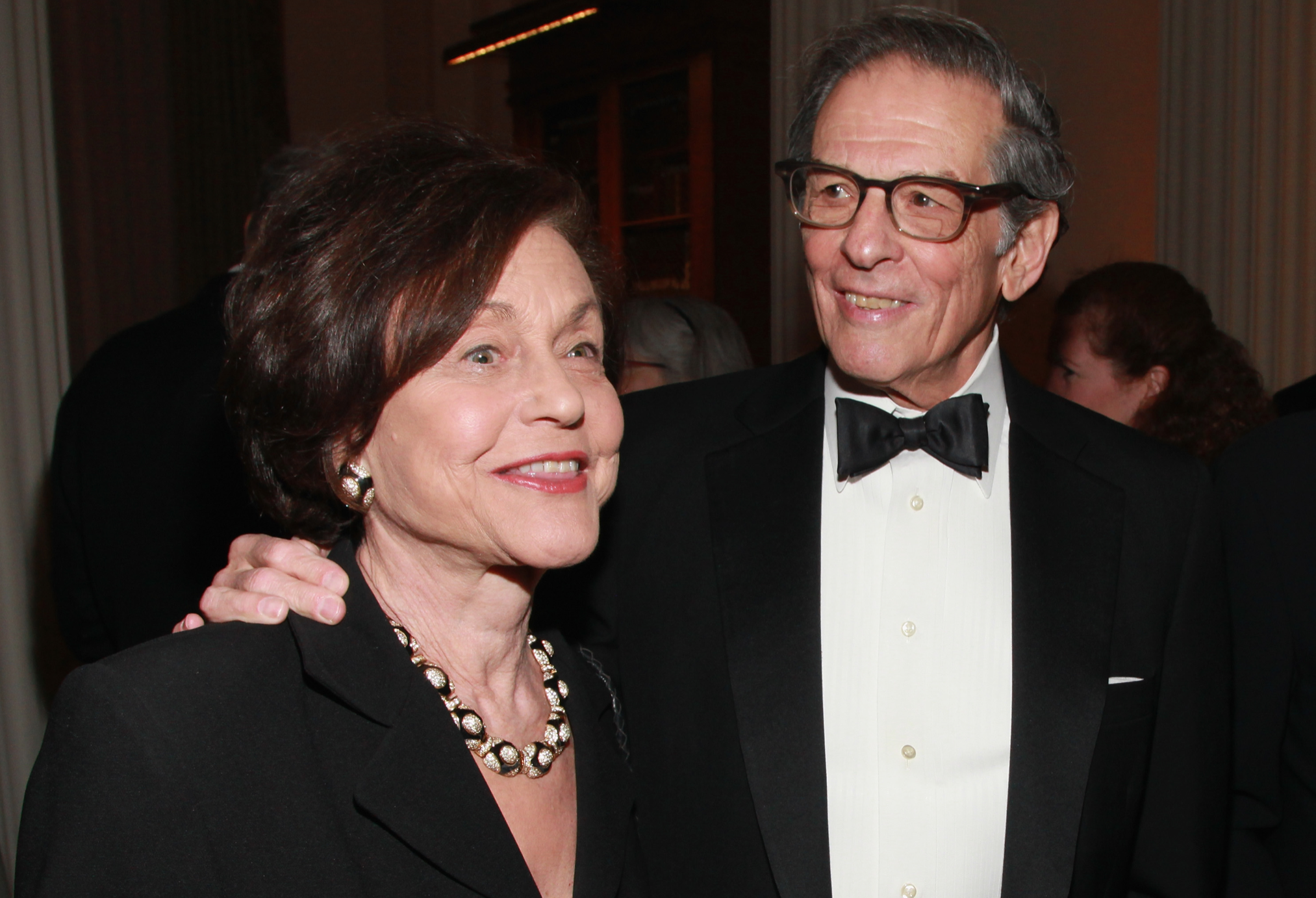 Robert Caro with his wife and research partner, Ina (Credit: Taylor Hill WireImage/Getty Images)