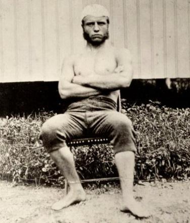 Teddy Roosevelt at Harvard University.