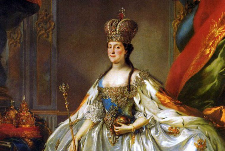 Empress Catherine II, coronation portrait