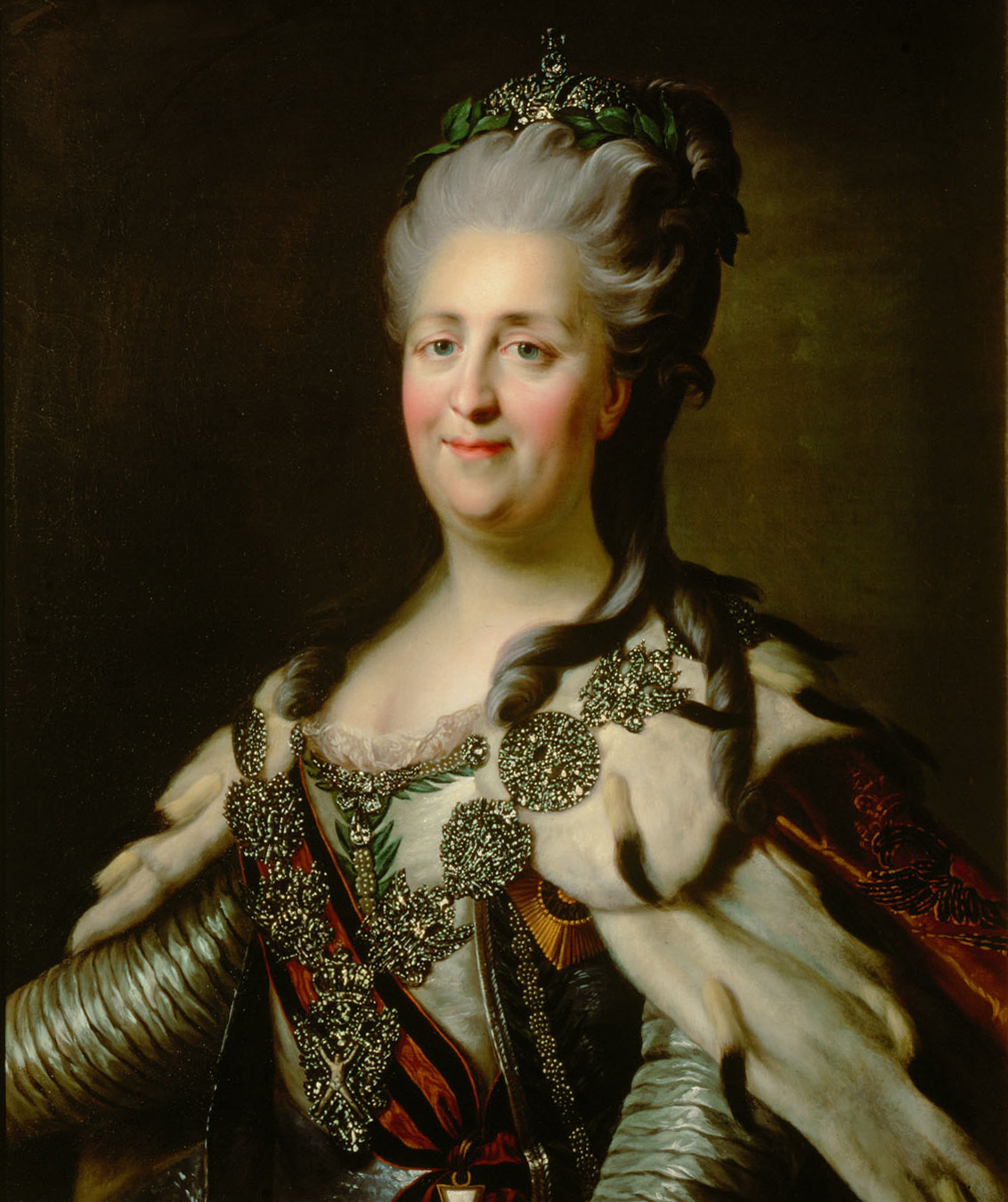 Catherine the Great, portrait of an ageing leader