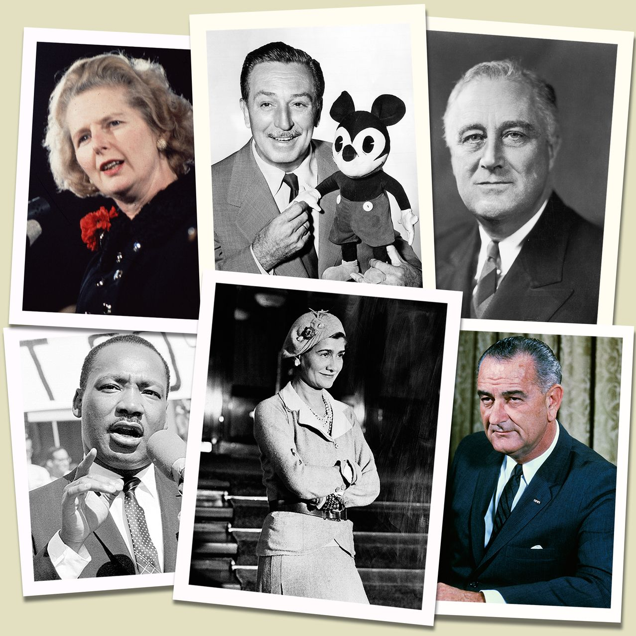 Some of these profiles, i.e. FDR and LBJ, are from Doris Kearns Goodwin's book  Leadership in Turbulent Times . (Image Credit:  WSJ )
