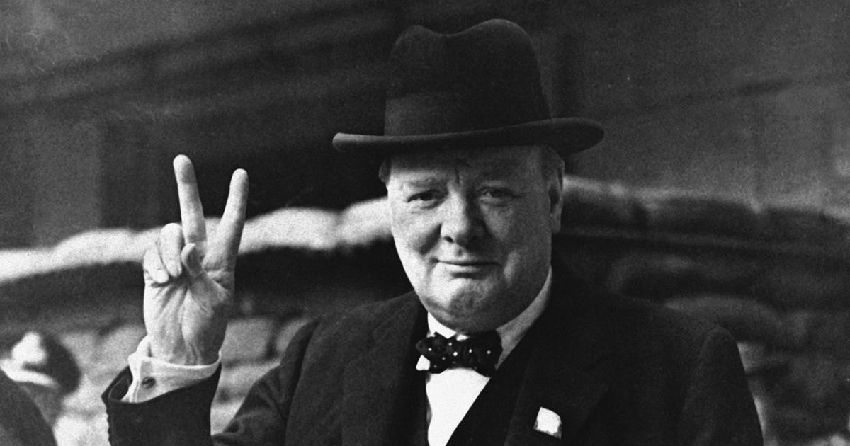 Churchill, also a favorite leader of mine, is often the subject to the Great Man Theory