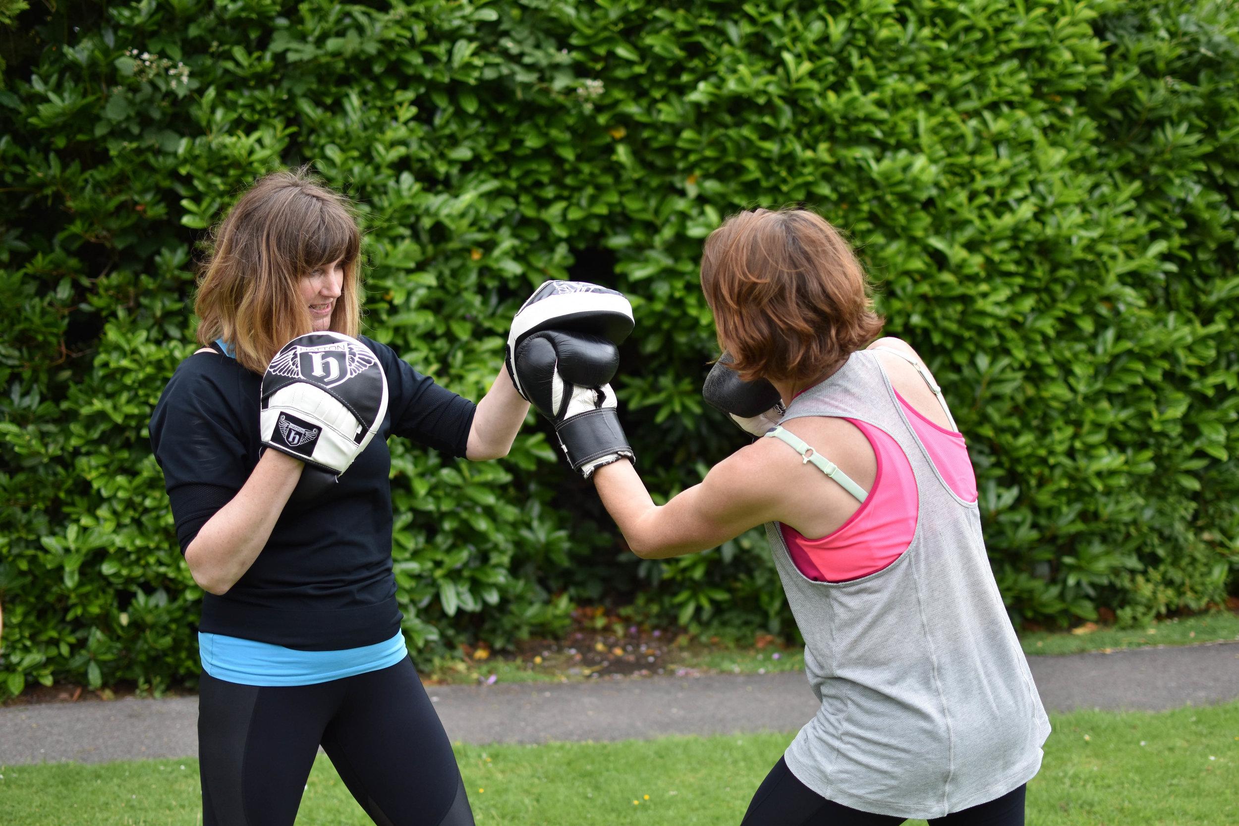 Enjoy Boxing for Feel Good Fitness -
