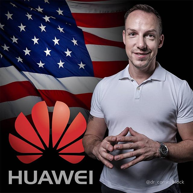 Until a few weeks ago, the average person would have barely heard about @huawei, but suddenly, this Chinese tech giant is global news and is at the center of a geopolitical row. WHY? And what does this mean for the global rollout of 5G networks? - I will explain. - Link in bio. - #drcorrieblock #5g #businessispersonal #meaningfulmanagement #futureofwork #tradewar